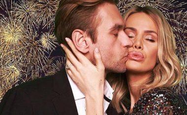 Afërdita Dreshaj bëhet romantike teksa puth bashkëshortin: Këtë e quaj magji