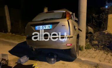 Makina e drejtorit të Policisë në Elbasan përplaset me një tjetër, dy të lënduar