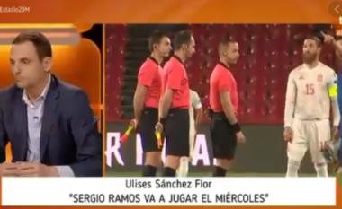 """Gazetari spanjoll nënvlerëson """"Dardanët"""": Ndeshja kundër Kosovës do të jetë komode dhe e lehtë për Ramosin (VIDEO)"""