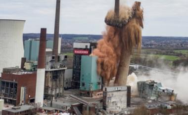 Shembet termocentrali i qymyrit në Gjermani, u përdorën plot 420 kilogram tritol (FOTO LAJM)