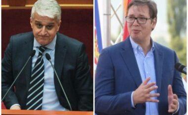 Postoi foton e hartës së Kosovës me flamurin serb, Pandeli Majko i përgjigjet Vuçiç