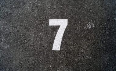 Numri 7 është fat, por mësojeni historinë!