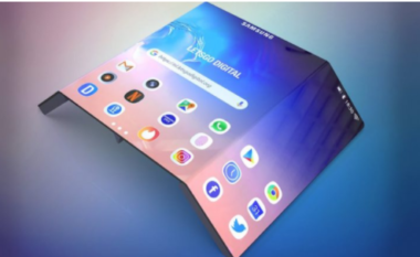 Samsung dëshiron të sjellë një telefon inteligjent që paloset dy herë