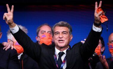 Fjalët e para të Lamporta si president: Leo, unë të dua, Barça të do, s'mund të largohesh (VIDEO)
