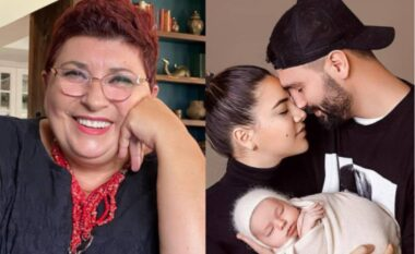 Dhurata më e ëmbël, nëna Xheraldina merr kujtimin e parë nga vajza e Ledrit (FOTO LAJM)