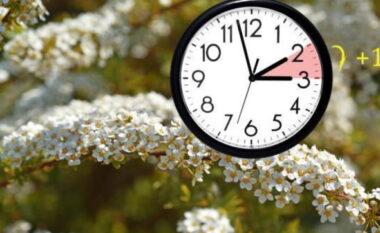 Ora verore, akrepat do të lëvizin 60 minuta përpara natën midis të shtunës dhe të dielës