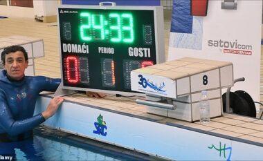 Rekord i ri botëror, kroati mban frymën nën ujë për 24 minuta e 33 sekonda (VIDEO)