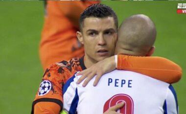 Zbulohet se çfarë i tha Ronaldo-Pepes gjatë ndeshjes në Champions (VIDEO)
