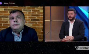 Gazetari detyron Ballën të braktisë emisionin: Po flisni nga lokali i Gjergj Lucës!