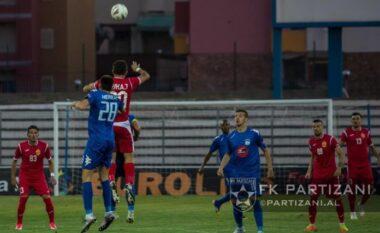Nuk ka fitues në Partizani-Teuta, Vllaznia rikthehet në krye të Superligës (FOTO LAJM)