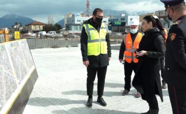 """Hapet një prej tuneleve te sheshi """"Shqiponja"""", lehtësohet lëvizja nga Tirana në Durrës (VIDEO)"""