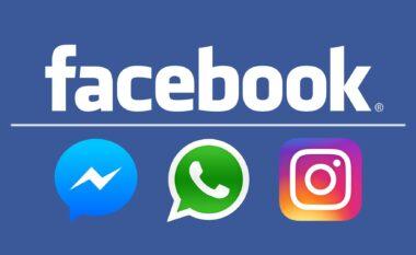 Ankth tek përdoruesit, bie Whatsapp, Instagram, Facebook dhe Messenger