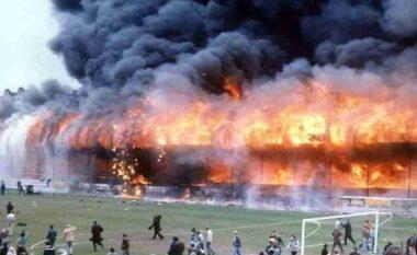 """Kur """"djalli"""" u ul këmbëkryq, mbi 56 viktima në tribunën e Bradford!"""