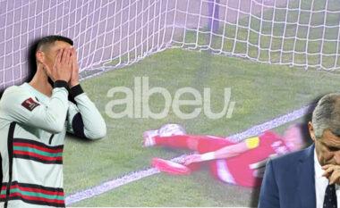 Goli i anulluar i Ronaldos, trajneri i Portugalisë: Gjyqtari na kërkoi falje