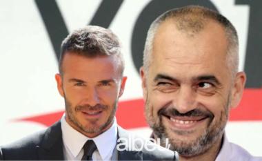 Gazetari zbulon batutën e Ramës që habiti anglezët: Sa e ka rrogën Beckham