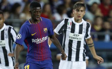 Juventusi dhe Barcelona dëshirojnë të arrihet një marrëveshje për shkëmbimin, Dembele – Dybala