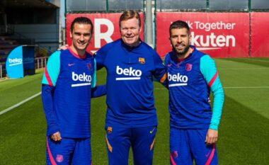 Ditë feste te Barcelona, Koeman dhe dy lojtarë kanë ditëlindjen