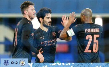 FA Cup/ Man.City mposht Evertonin dhe kalon në gjysmëfinale (VIDEO)