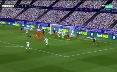 """Portieri i siguron një pikë Sevillas në """"frymën e fundit"""" ndaj Valladolid (VIDEO)"""