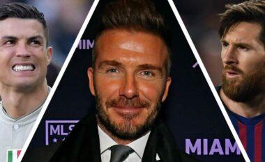 Beckham vazhdon të ëndërrojë për dyshen Messi-Ronaldo te Inter Miami