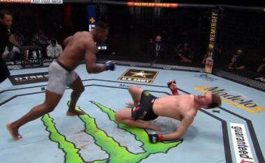 """Spektakël në UFC, Ngannou mposht Stipe dhe shpallet kampion i """"Heavyweight"""" (VIDEO)"""
