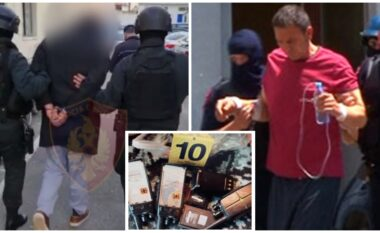 Bastiset shtëpia e Ardjan Çapjas, arrestohet një i dënuar që fshihej brenda (VIDEO)
