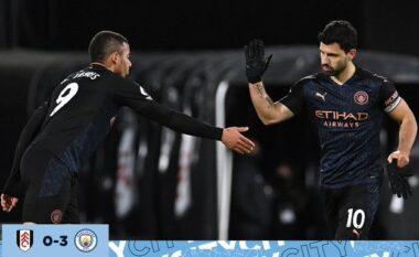 Manchester City i sigurtë drejt titullit, mposht pa shumë probleme Fulhamin (VIDEO)