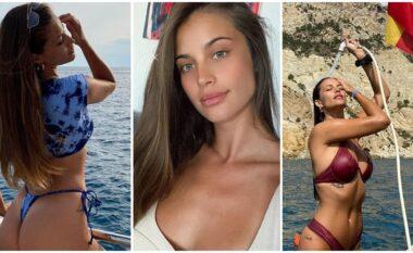 """Foto """"hot"""" në anije, ish e dashura e yllit të Lazios magjeps fansat (FOTO LAJM)"""