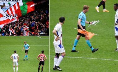 Si në Beograd, droni ndërpret ndeshjen mes Atletico Bilbaos dhe Eibar