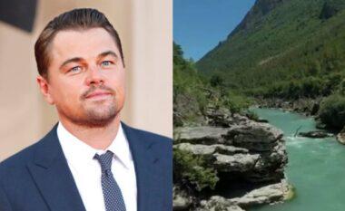 """""""Kurora blu e Europës, DiCaprio merak të veçantë për lumin Vjosa në Shqipëri"""