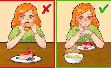 Bie poshtë miti, nuk është e dëmshme që fëmija të hajë ëmbëlsirë para pjatës kryesore