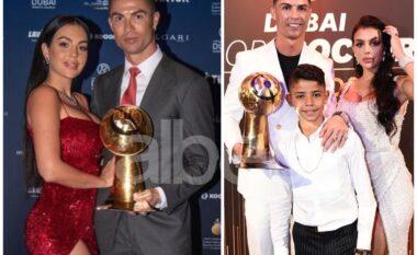 Cristiano Ronaldo dhe Georgina prazantojnë publikisht anëtarin e ri në familje