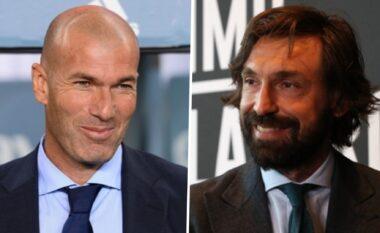 Të shkarkohet Pirlo dhe të emërohet Zidane, strategjia e Juves për të fituar Champions
