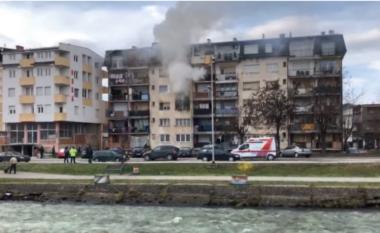 Tragjedi në Gostivar: Nga zjarri humb jetën një fëmijë, i kishte këmbët e lidhura (VIDEO)