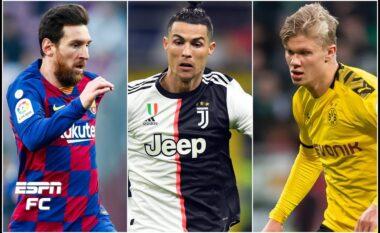 A do e arrijë Messin dhe Ronaldon? Ja çfarë thotë Haaland