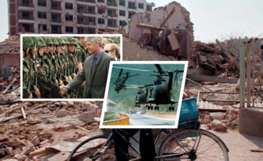 Tym, zjarr e rrënoja! Fotot e rralla kur NATO bombardoi Ish-Jugosllavinë për Kosovën (FOTO LAJM)