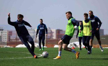 Përgatitjet për Suedinë, optimizëm në stërvitjen e Kosovës (VIDEO)