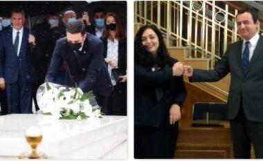 """Dita e parë si kryetar i LDK-së, Lumir Abdixhiku """"refuzoi"""" Albin Kurtin e Vjosa Osmanin për Rugovën (FOTO LAJM)"""