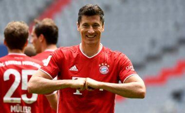 Lewandowski në historinë e Bundesligë-s, bëhet shënuesi i dytë më i mirë