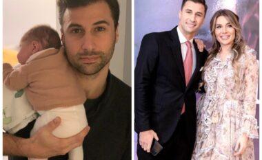 """Tashmë baba i dy fëmijëve, Lorik Cana prezanton """"ishin"""": Ka tatuazh me emrin tim (FOTO LAJM)"""