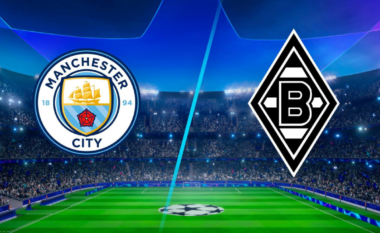 CHAMPIONS/ Manchester City – Gladbach, formacionet e mundshme