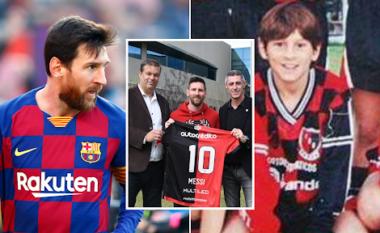 """""""Messi do të luajë për Newell's Old Boys, siç ka luajtur Maradona"""""""