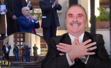 Rapsodisti i kushton këngë presidentit: Jetë të gjatë o Ilir Meta! (VIDEO)