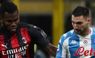 Milani bën një hap fals në luftën për titull, mposhtet nga Napoli dhe rrezikon vendin e dytë (VIDEO)