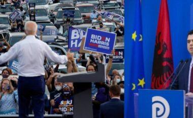 Si Bideni, Basha çel fushatën me makina