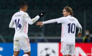 Formacionet zyrtare, Real Madrid-Atalanta