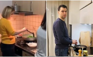 Kryemadhi si Basha, e nis fushatën duke gatuar (VIDEO)