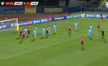 Shqipëria vuan përballë San Marinos por del me 3 pikë (VIDEO)