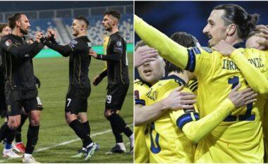 Kosovë-Suedi, formacionet zyrtare (FOTO LAJM)