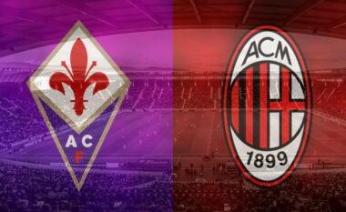 Fiorentina-Milan, formacionet zyrtare